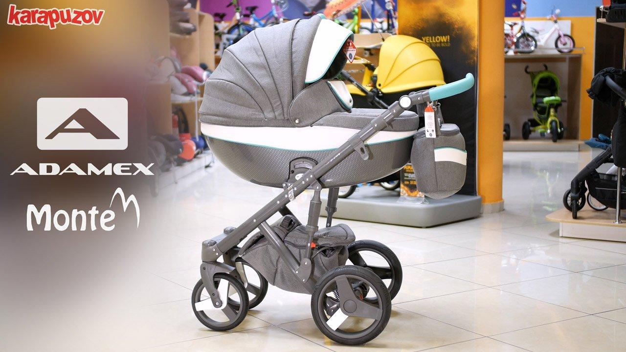 детская коляска adamex monte