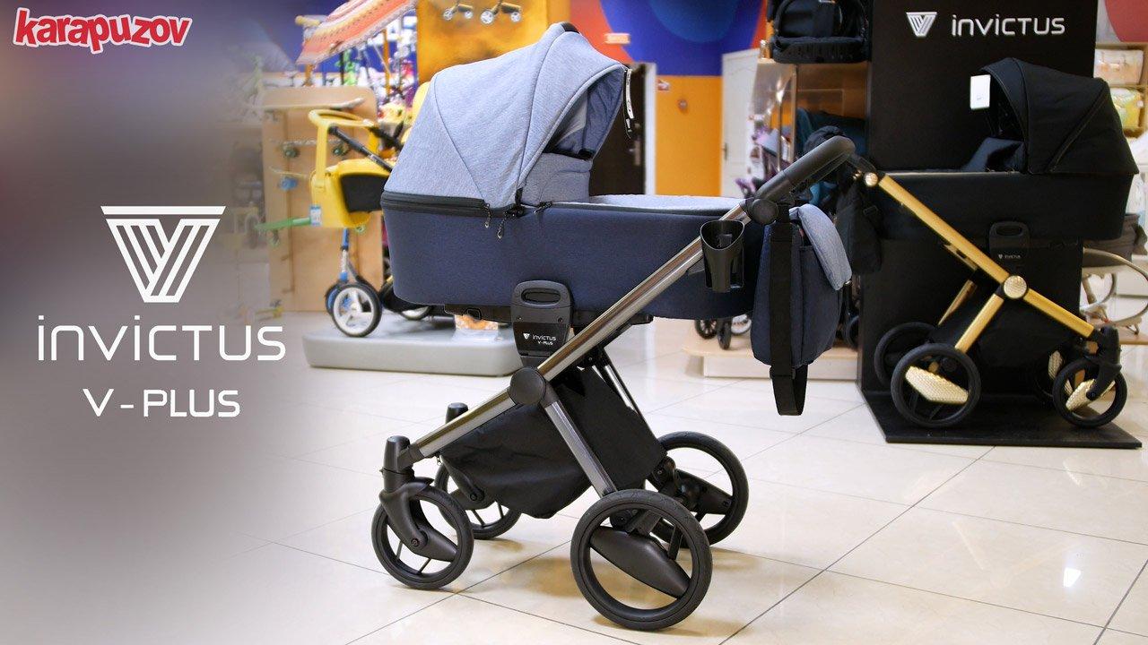 детская коляска invictus v-plus