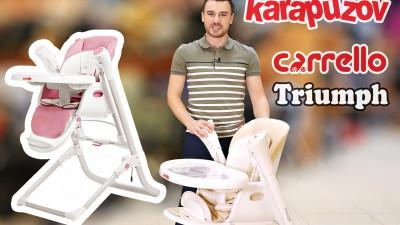 Многофункциональный детский стульчик Carrello Triumph