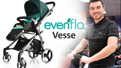 Evenflo Vesse  - прогулочная коляска новинка 2019 года
