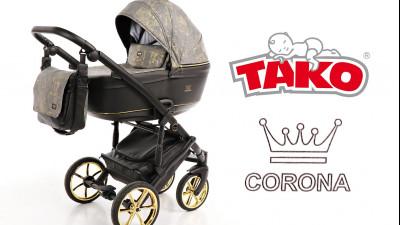 Коляска Tako Corona: гармония и безупречность