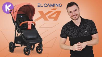 Обзор всесезонной коляски El Camino X4