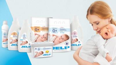 Jelp для стирки одежды младенцев