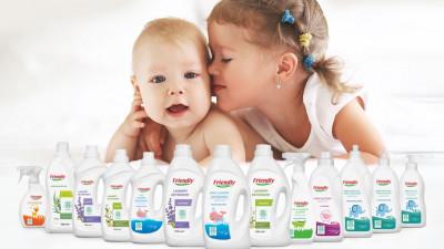 Friendly organic: забота о чистоте детских вещей и комнаты