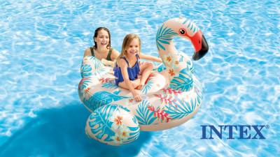Надувные бассейны, матрасы Intex для детей