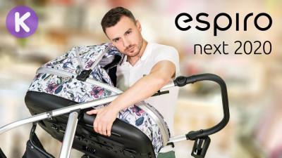 Обзор коляски Espiro Next 2020