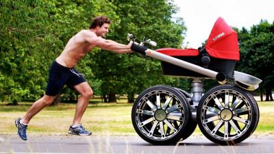 Какие колеса на коляске лучше: гелевые или надувные