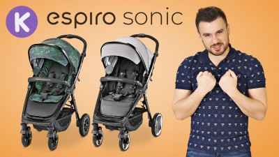 Видео обзор прогулочных колясок Espiro Sonic и Sonic Air