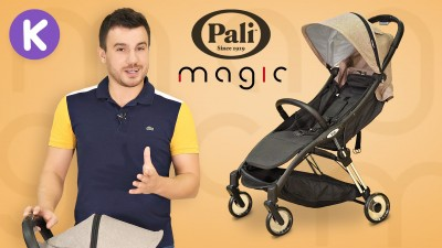 Обзор коляски для путешествий Pali Magic
