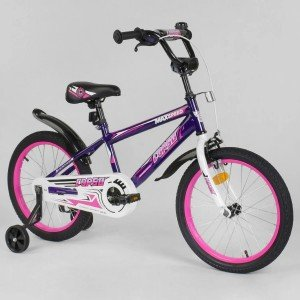 Велосипед двухколесный Corso 18 д фиолетовый (EX-18 N 2203)