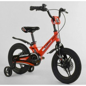 Велосипед двухколесный Corso 14 д красный (MG-66936)