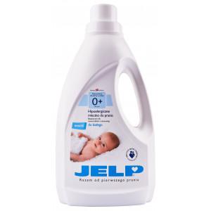 Гипоаллергенное молочко для стирки  JELP 0+ для белого 1,5 л (90010)