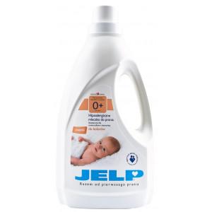 Гипоаллергенное молочко для стирки  JELP 0+ для цветного 1,5 л (90017)