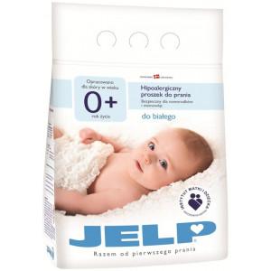 Гипоаллергенный стиральный порошок JELP 0+ для белого цвета 2,24 кг (80012)