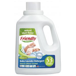 Органическое средство для стирки детского белья Friendly Organic без запаха 1567 мл (FR0416)