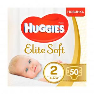 Подгузники Huggies Elite Soft (2) 50 шт (47978)