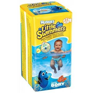 Подгузники-трусики Huggies Little Swimmers (2-3) 12 шт (37795)