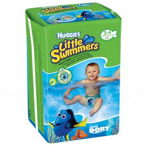 Подгузники-трусики Huggies Little Swimmers (3-4) 12 шт (83399)