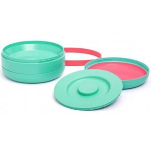 Набор тарелок Suavinex Истории маленьких монстров, зеленый (303608)
