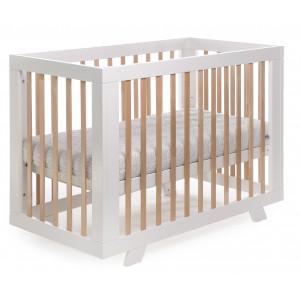 Кроватка DeSon Zoryane, белый-натуральный