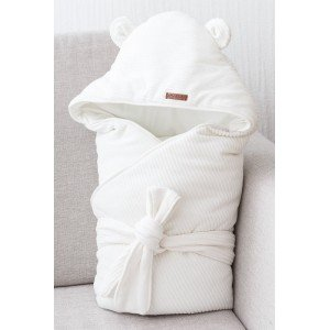 Велюровый конверт-одеяло MagBaby Velvet молочный (103115)