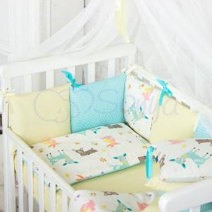 Постельный комплект Маленькая Соня Baby Design Premium Bambi 7 предметов