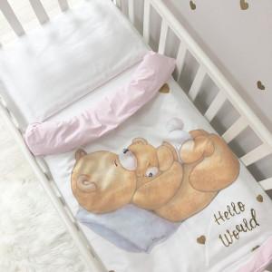 Детское постельное Маленькая Соня Happy Baby розовый (035009)