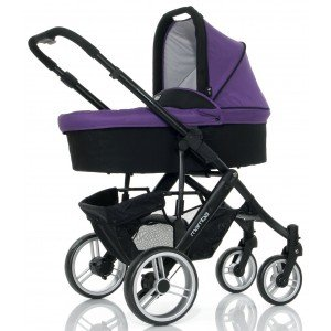 Коляска 2 в 1 ABC Design Mamba Purple Black