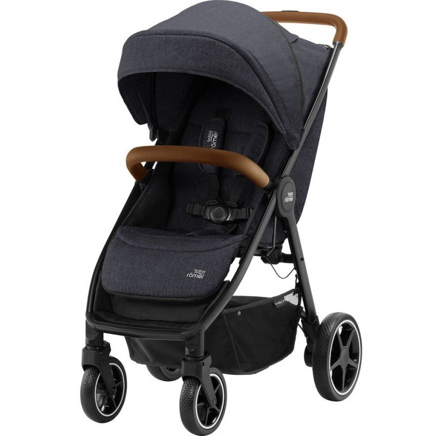 Прогулочная коляска Britax-Romer B-Agile R Black Shadow/Brown