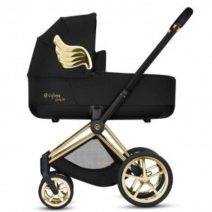 Коляска 2 в 1 Cybex Priam by Jeremy Scott Wings Black