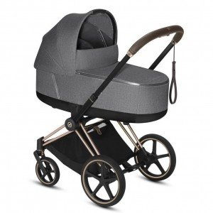 Коляска 2 в 1 Cybex Priam Lux Manhattan Grey Plus