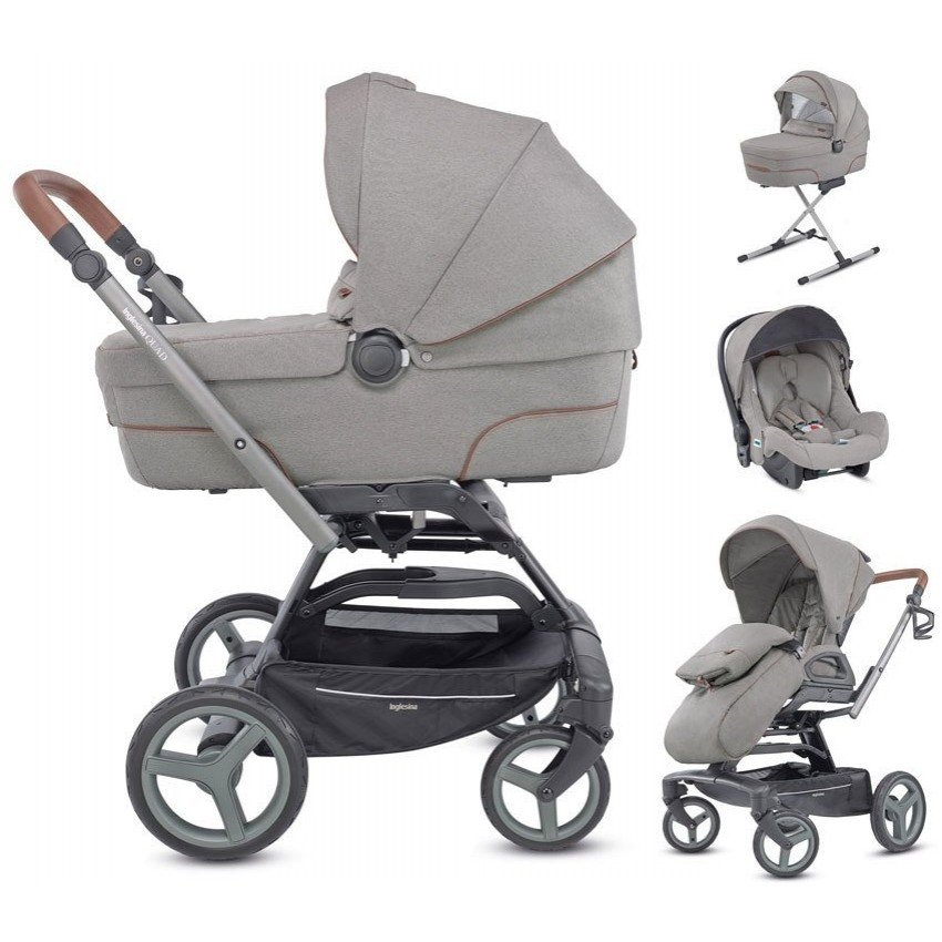 Коляска 4 в 1 Inglesina Quad Derby Grey