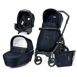 Коляска 3 в 1 Peg-Perego Pop-Up/Book 51 (Culla Elite Rock Navy)