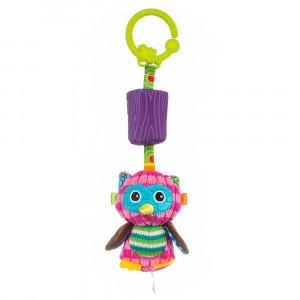 Подвесная игрушка Balibazoo  Сова Олимпия со звоночком (83579)