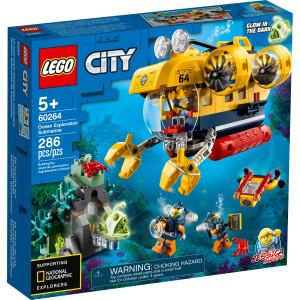 Конструктор Lego City Океан: исследовательская подводная лодка (60264)