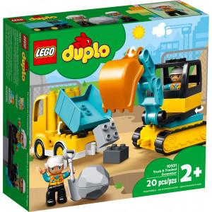 Конструктор Lego Duplo Грузовик и гусеничный экскаватор (10931)