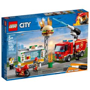 Конструктор Lego Пожар в бургер-баре (60214)