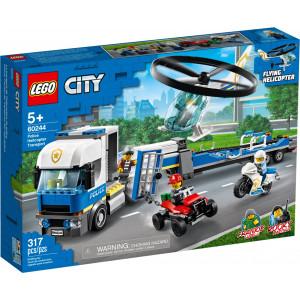 Конструктор Lego City Полицейский вертолётный транспорт (60244)