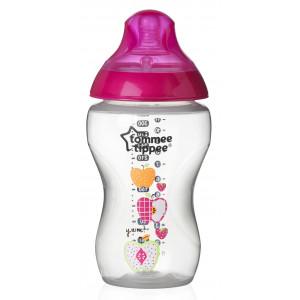 Бутылочка для кормления Tommee Tippee для девочек 340 мл арт. 42269887 (73462)