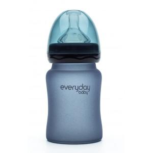 Бутылочка cтеклянная термочувствительная детская Everyday Baby 150 мл (10205)