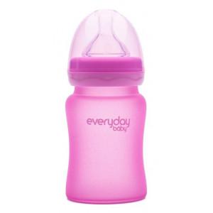 Бутылочка cтеклянная термочувствительная детская Everyday Baby 150 мл (10202)