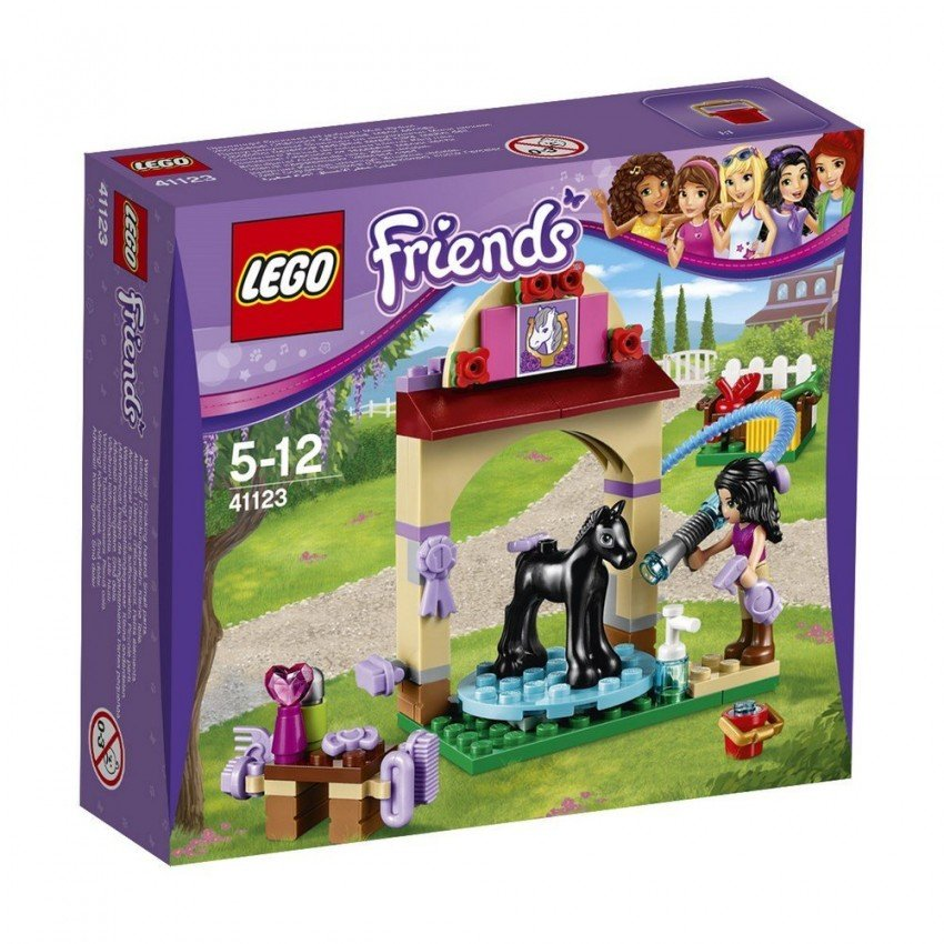Конструктор Lego Friends Купание жеребенка в конюшне (Лего)