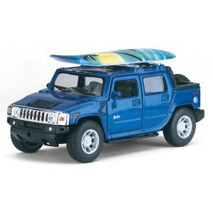 Машинка Kinsmart 2005 Hummer H2 SUT Surfboard (KT5097WS)