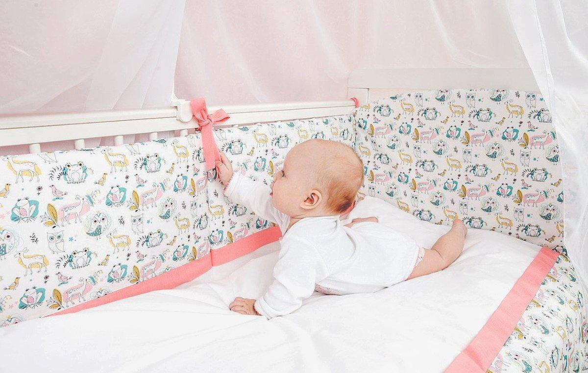 нужны ли защитные бортики в кроватку