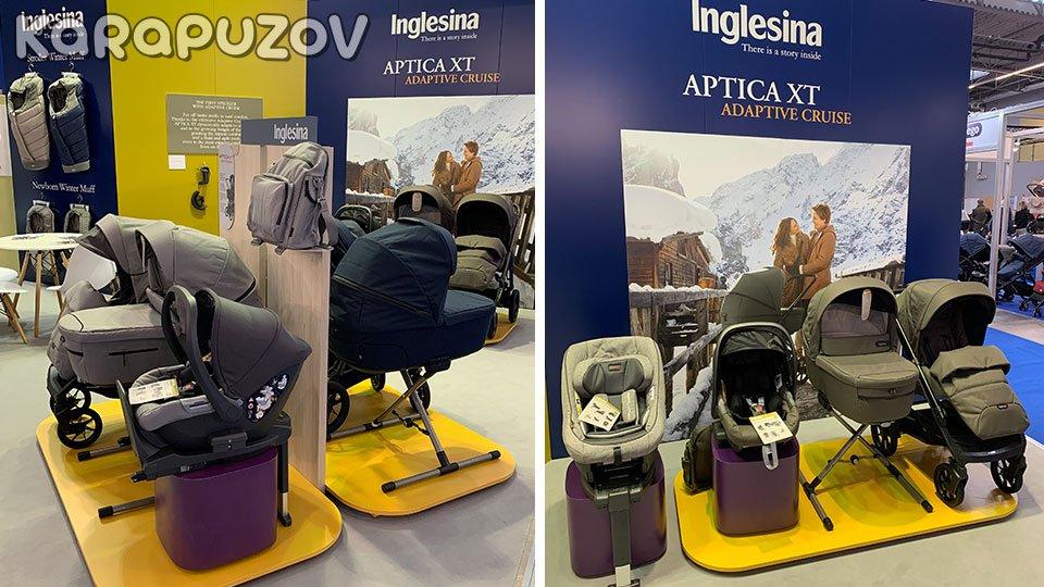 детская коляска 2020 года Инглезина Аптика