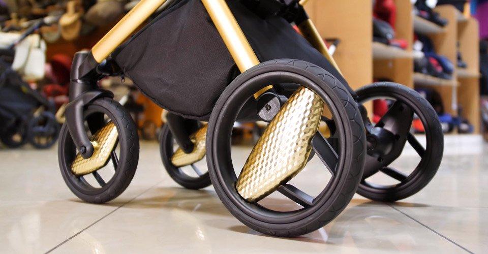 гелевые колеса детской коляски