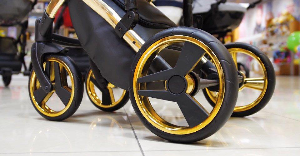 колеса из вспененной резины