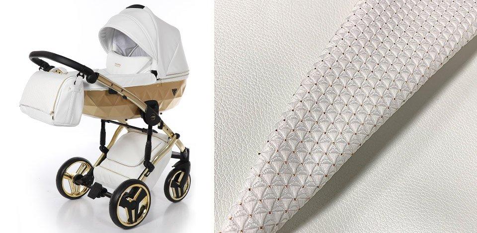 Материал детской коляски экокожа или текстиль