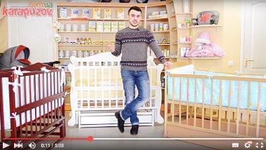 Видео обзоры детских кроваток
