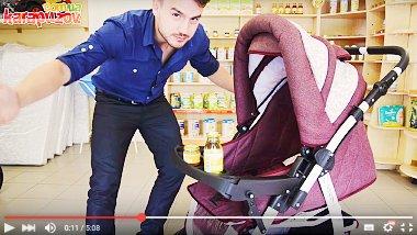 Видео обзоры колясок трансформеров